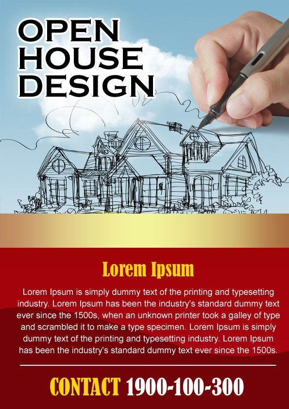 34 best Open House Flyer Ideas images on Pinterest Flyers, Real - flyer format word