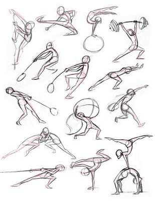 Kitty Fung Art and Animation: September 2010 ✤ || CHARACTER DESIGN REFERENCES | Poses Sketches / Drawings Illustrations Inspiration