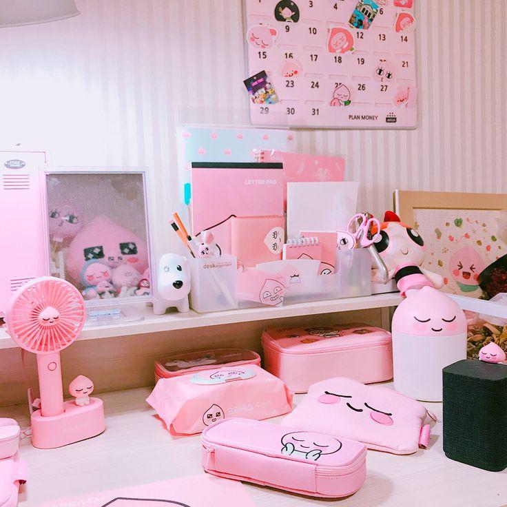 APEACH on Instagram:   Kawaii room, Cute room ideas ...