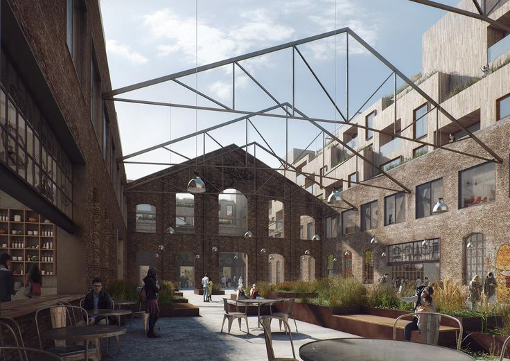 Nydalen Building Transformation Competition, Norway, JAJA Architects, 2016