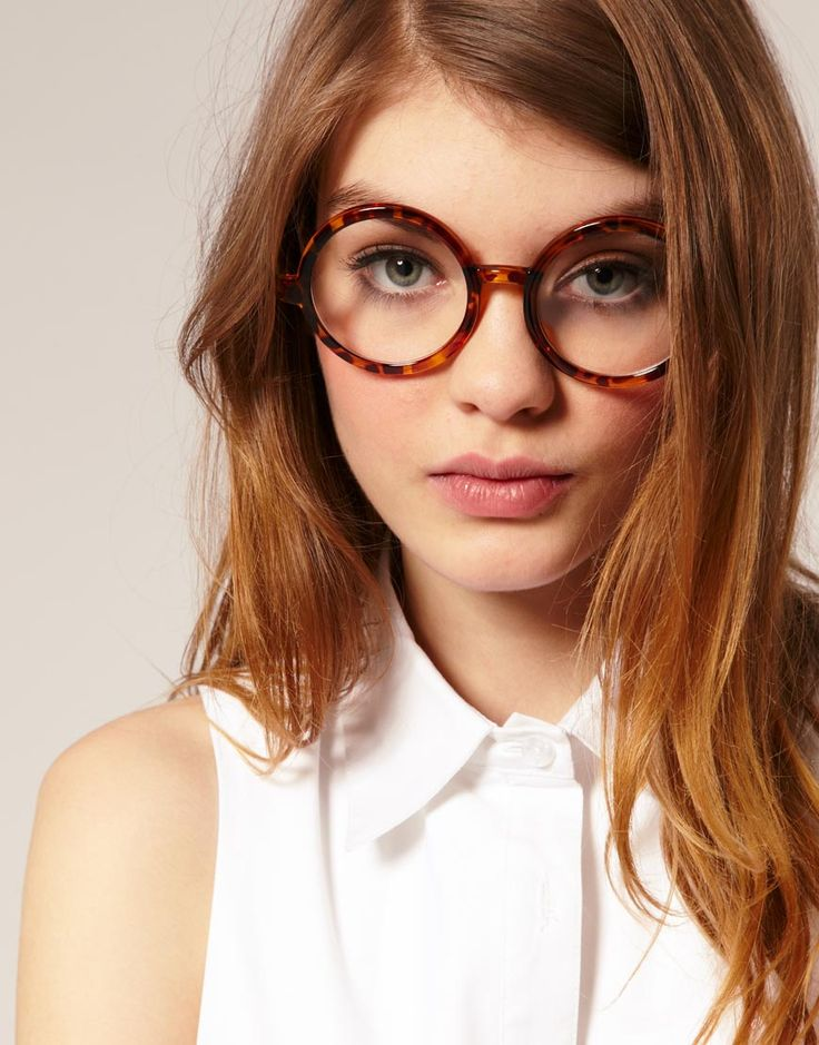 Glasses-- so cute.