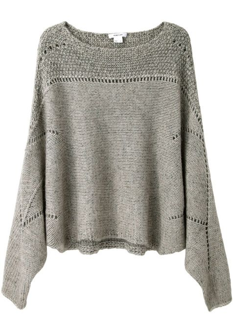 Polar Knit Cropped Sweater by Helmut Lang