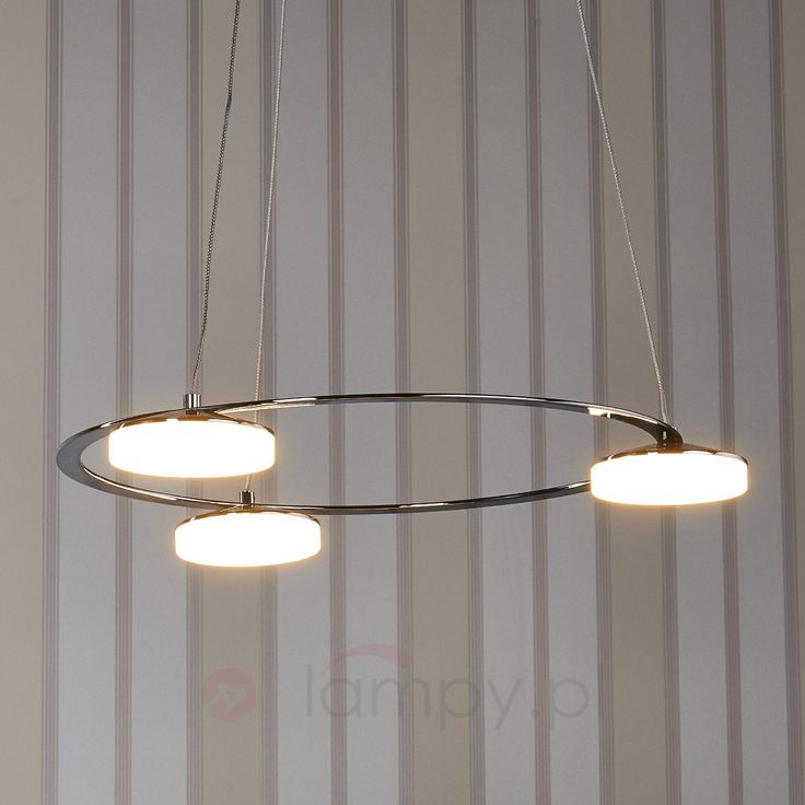 3-punktowa lampa wisząca LED Sorina 9958018