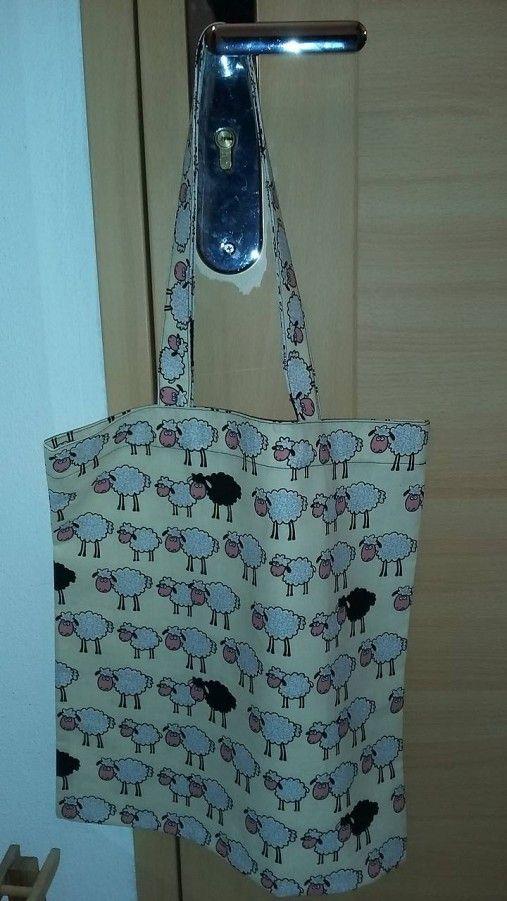 ..DADA / nákupná taška - ovečky - veľkosť M
