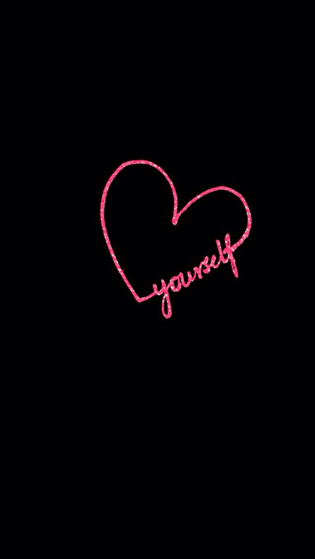 Love yourself iphone wallpaper hello kitty wallpapers cellphone wallpaper black wallpaper - Lovely wicked iphone wallpaper ...