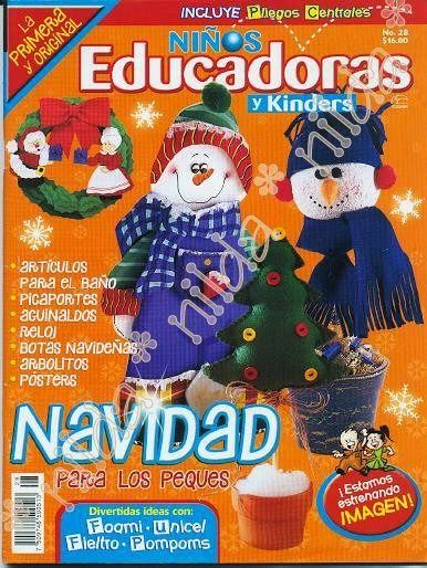 como hacer muñecos navideños 2014