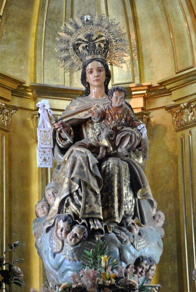 Virgen del Carmen. Parroquia de Nuestra Señora del Carmen, PP. Carmelitas Descalzos.
