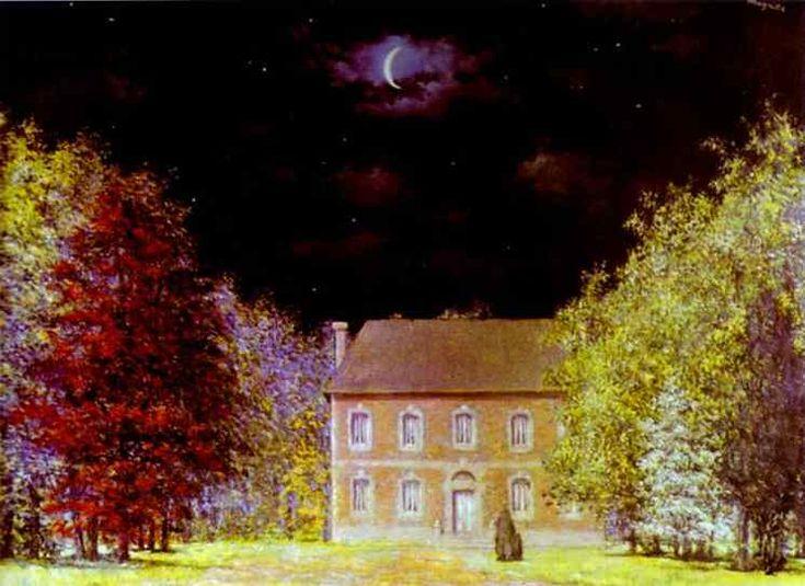 'God's Salon', Oil On Canvas by Rene Magritte (1898-1967, Belgium)