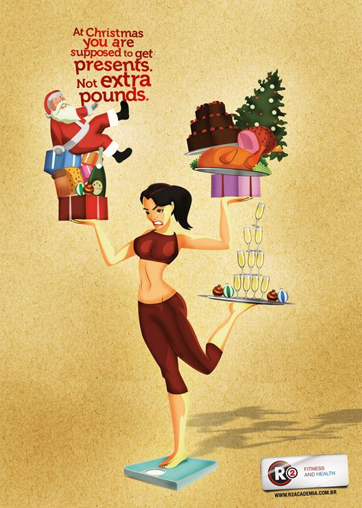 R2 Fitness Club: Christmas Girl | My sense of Posters and ...