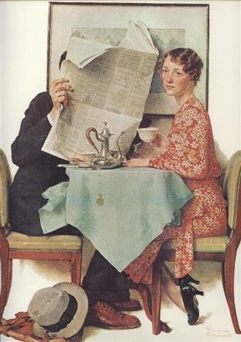 norman rockwell, of course