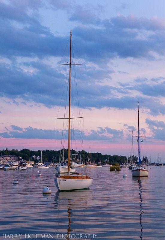 Boothbay Harbor Maine. Credit: Harry Lichtman http://www.harrylichtman.com