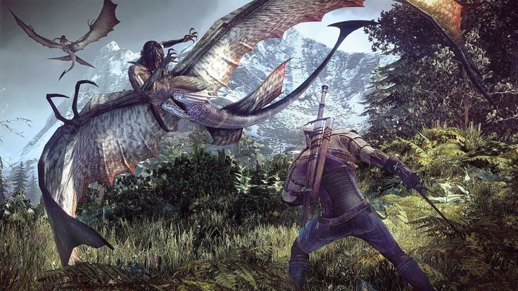 The Witcher 3's 4K update for PS4 Pro is here