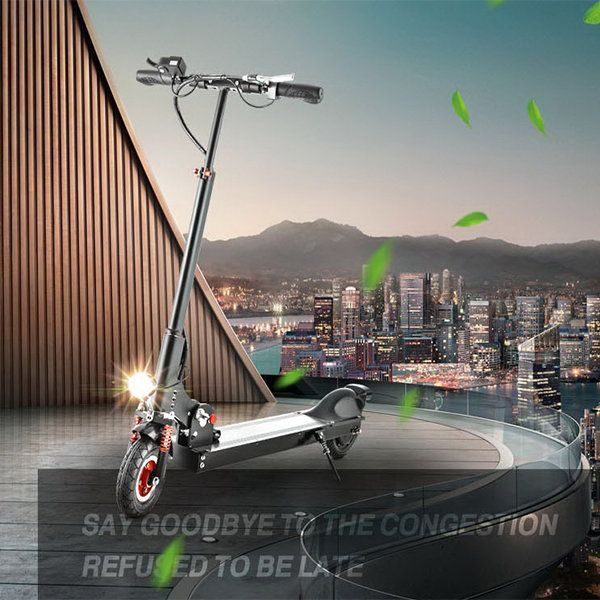 Folding 30KM/h Electric Scooter Lithium Battery Power Two Wheels Electric Bike City Travel Scooter Sale - Banggood.com