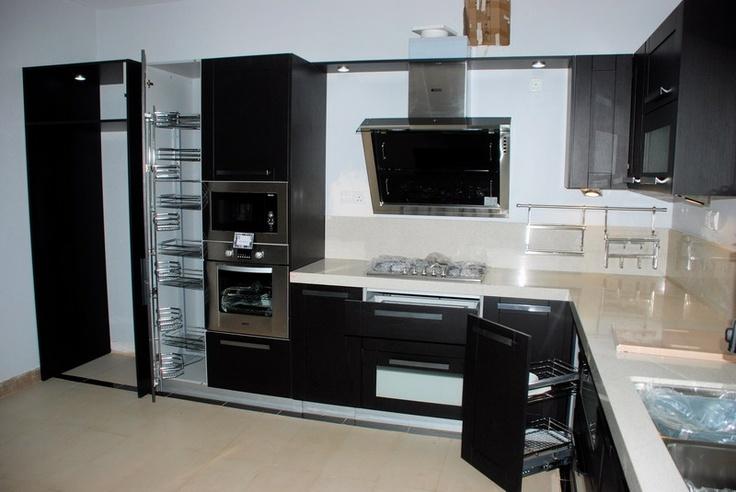 Black Kitchen Design Classy Design Ideas