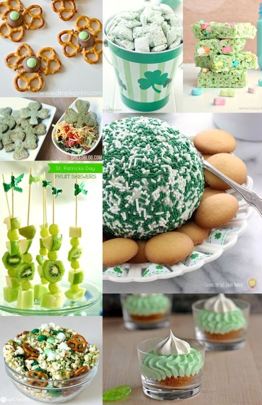 St. Patrick's Day Snacks & Sweets