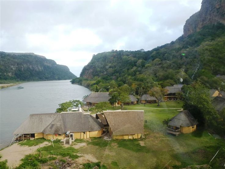 N'taba River Lodge - Nestled between towering cliffs and set in tropical gardens on the banks of the Umzimvubu River, N'taba River Lodge is a small family lodge offering a perfect mixture of Wild Coast hospitality and homely ... #weekendgetaways #portstjohns #southafrica