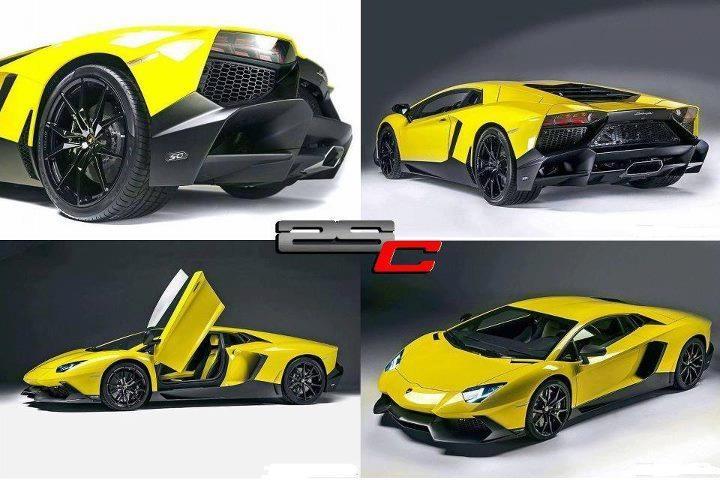 Lamborghini Aventador LP 720-4 50th Anniversary