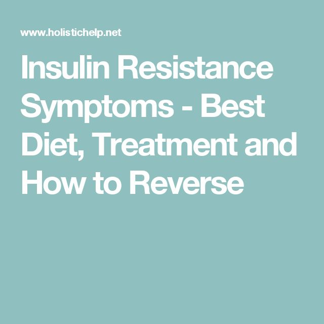 Best Natural Treatment For Insulin Resistance