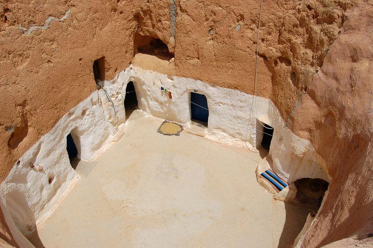 Village Matmata, Tunisie | 27 maisons souterraines à couper le souffle