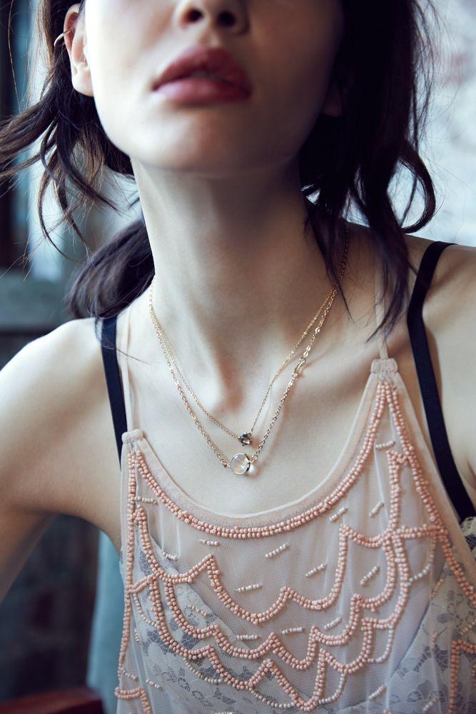 brunze:  urbanoutfitters:  Current favorite: super-delicate jewelry.  f a s h i o n • b l o g