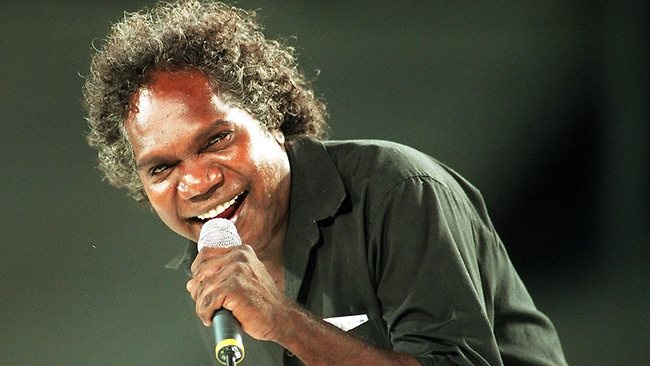"Mandawuy Yunupingu (1956-2012) was an Australian Aboriginal musician, songwriter and campaigner who fought many battles - most of which he won. As the frontman of Yothu Yindi, he pushed indigenous music beyond Australian borders and gained a global audience with his 1992 hit Treaty. He was also Australia's first indigenous school principal. His surname, Yunupingu, translates as ""rock that will stand against anything""."