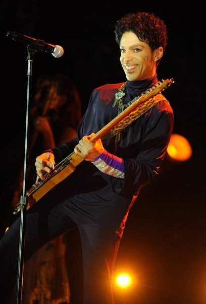So....I definitely think if you look up the word sexy in the dictionary, Prince's face with no definition is there.
