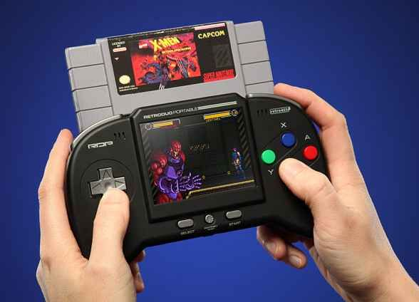 This Portable Retro Game System | 18 Gadget Gift Ideas From The Depths Of The Internet