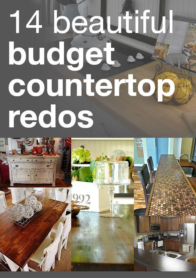 14 beautiful budget countertop redos