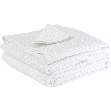 Wallace Cotton / Classic Waffle Blanket / $159.90
