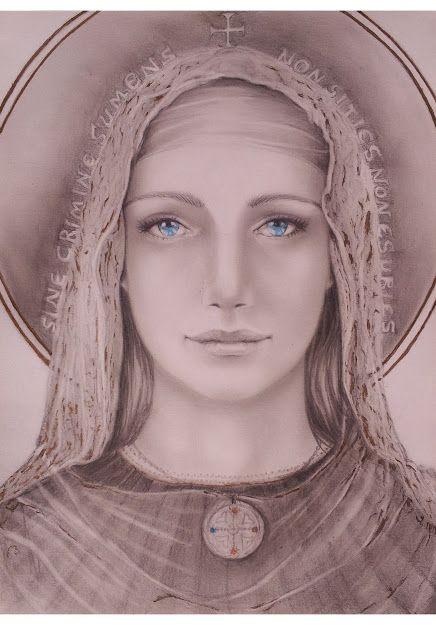 Marina Castellan: Studio per Madonna dei Templari