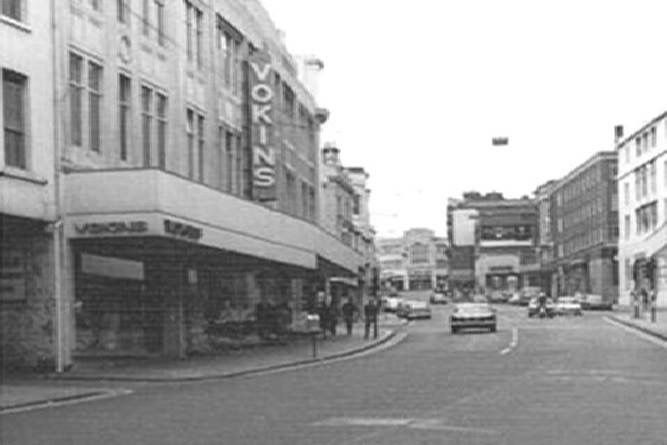 Vokins, North Street, Brighton, East Sussex England in 1976