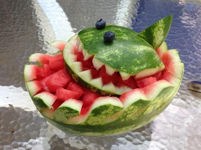 Best images about watermelon carving contest on