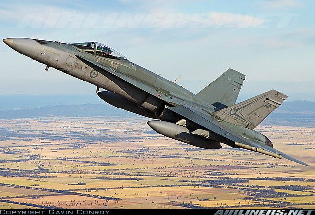 Royal Australian Air Force McDonnell Douglas F/A-18A Hornet aircraft picture