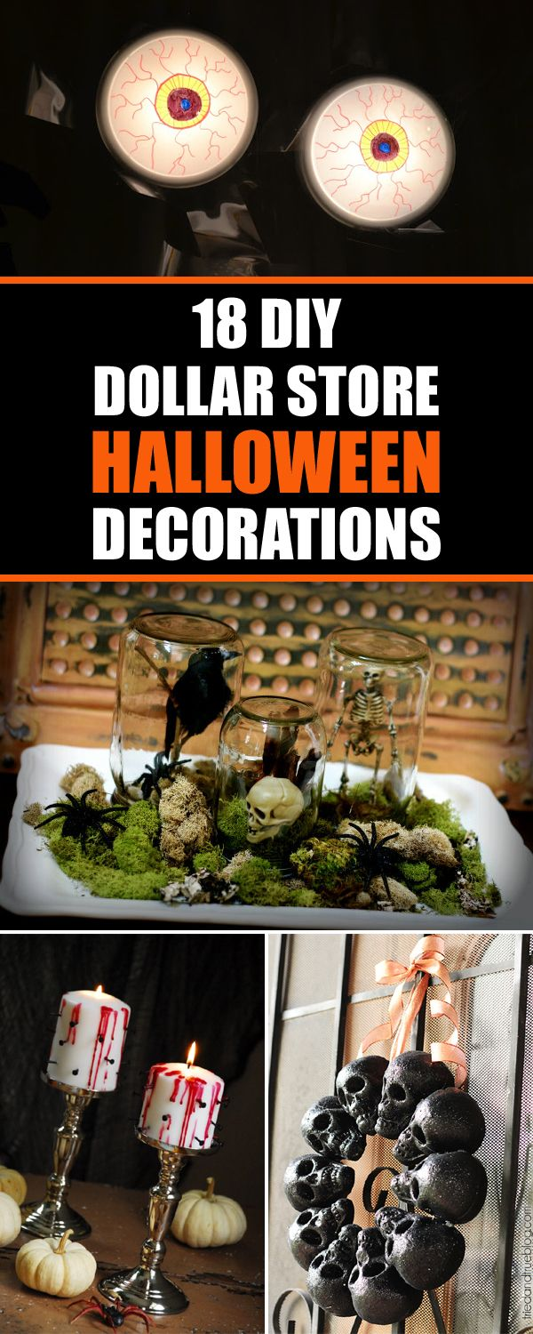 Best 25+ Dollar store halloween ideas on Pinterest | DIY ...