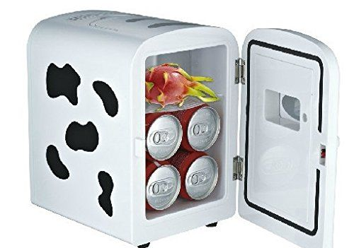 Heating and hot cold boxes small refrigerator mini car family of dual-use electronic portable fridge freezers hostel