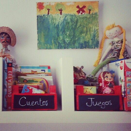 Cajas de fresas para almacenar cuentos y juegos de mi - Cajas de plastico para almacenar ...