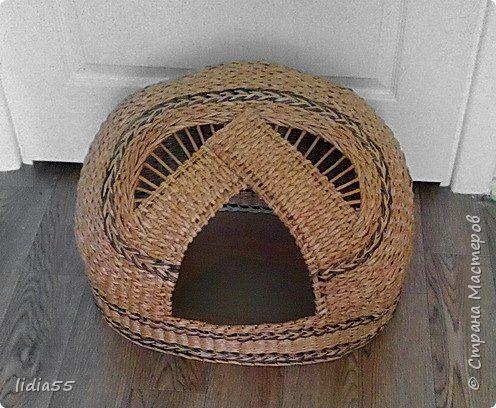Мастер-класс Поделка изделие Плетение кашпо  или ваза  и как я ЭТО делала  Трубочки бумажные фото 16