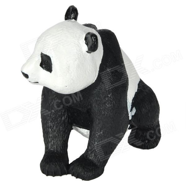 Model: OP13; Quantity: 1 piece(s) per pack; Color: Black + White; Material: Resin; Specification: Cute animal Panda style, can be toy, gift, display decoration; Other Feature: Panda is China Nation Treasure and one of the World's Rarest Animals; Packing List: 1 x Panda display toy; http://j.mp/VH9zpe