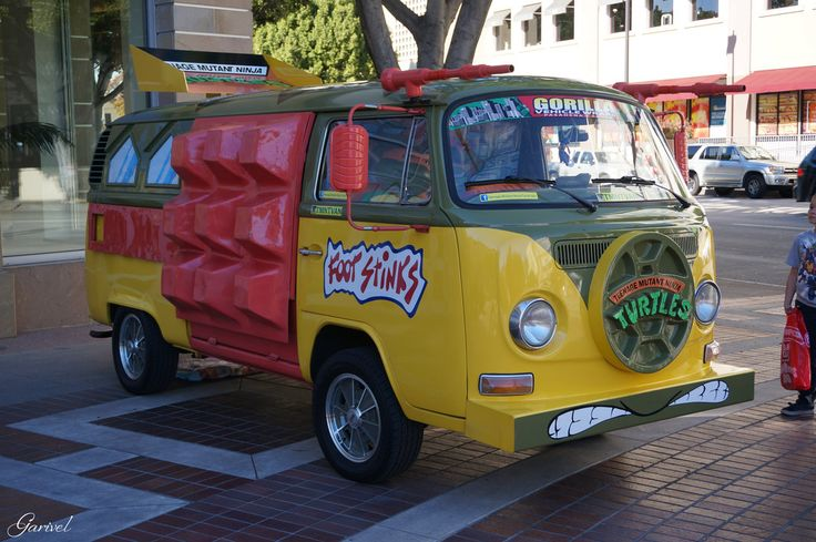 ninja turtle van - Google Search