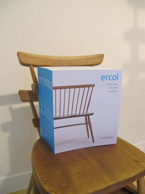 ERCOL FURNITURE IN THE MAKING  Lesley Jackson's book is a detailed account of the company and its colourful founder, Luciano Ercolani.  Margaret Howell's connection with Ercol furniture goes back to early childhood. In 2002 her company re-launched archive pieces from the Windsor range, helping to create a revival of interest in this classic British furniture.  The book is available in our shops