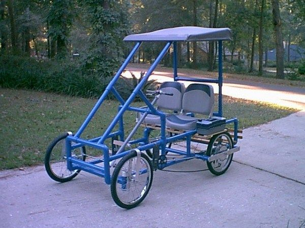448 best images about pvc pipe crafts on pinterest for Golf cart plans