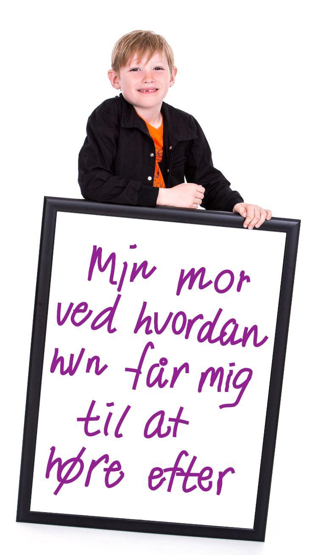 Ved du, hvad du skal gøre for at få dit barn til at høre efter. www.ressourcekurser.dk