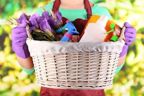 nettoyage de printemps maison entretien produits de nettoyage