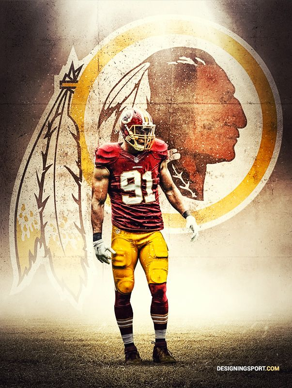 designingsport:  Ryan Kerrigan, Washington Redskins. This is the second best rolb in the league.