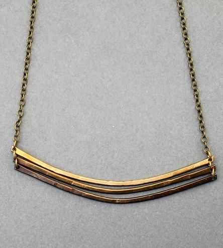 Simple necklace to toss on over any casual look.