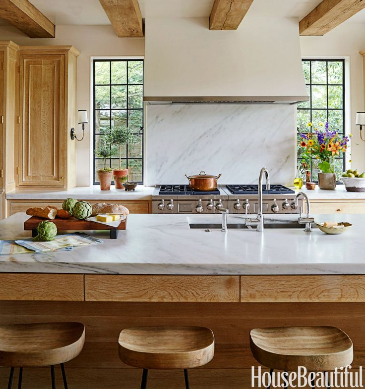Revamp Kitchen Cupboards Ideas: A Sunny Tudor Gets A Kitchen Revamp That's Just Modern