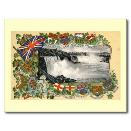 Niagara Falls, Canada Vintage Post Cards