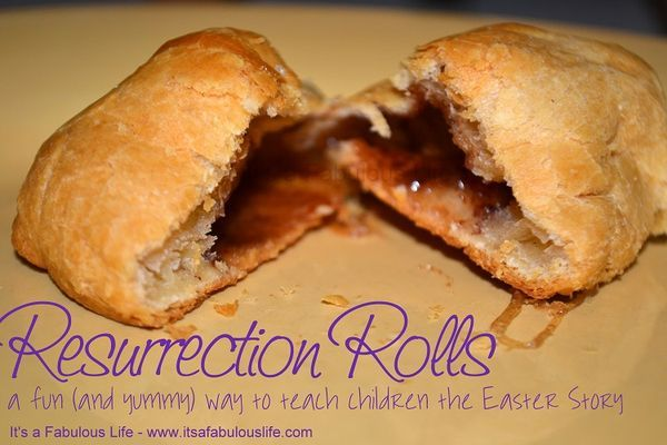Resurrection Rolls - A Fun (and Yummy) Easter Tradition - Super easy and a great way to teach the Easter Story - Its A Fabulous Life