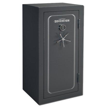 Coffre pour 33 armes à feu avec porte et verrou électronique «Sovereign» - Stack-on