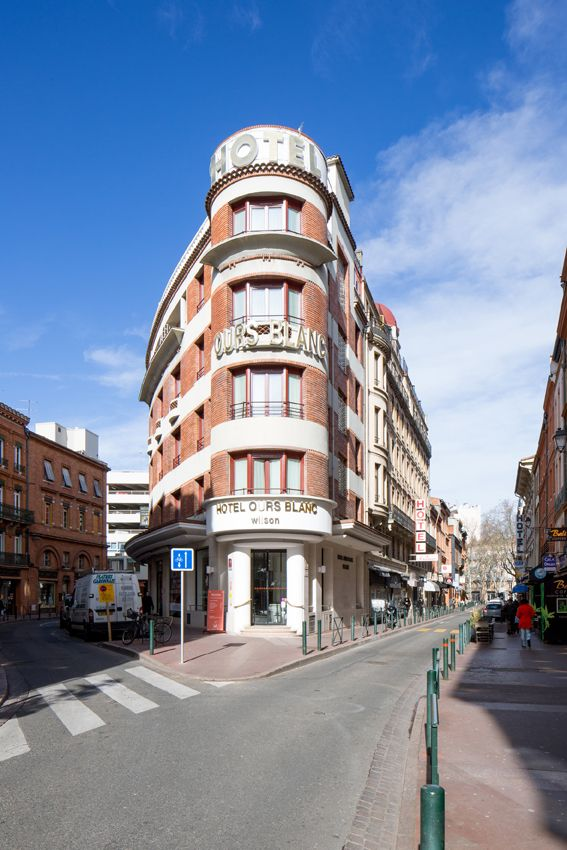 Hotel Ours Blanc Wilson, Toulouse